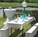 Tischtuch von fws for Biertische dekorieren